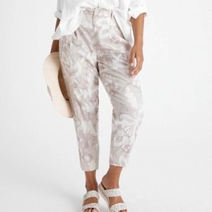 ANTHROPOLOGIE Frannie Tapered Pants NWT in Size 25